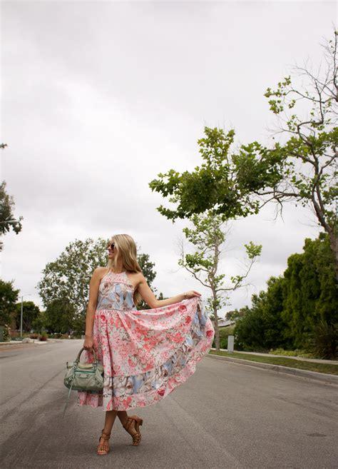 N Flowy floral flowy dress ash n fashn