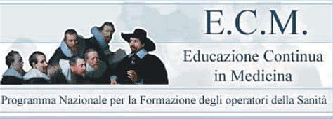 agenas ecm dati corsi di formazione medico scientifica forma s a s