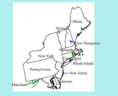 map of the northeast region states and capitals the gallery for gt northeastern states map with capitals