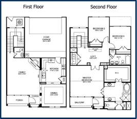 House Plans Two Floors by 2 Story 1 Bedroom Floor Plans House As Well 2 Story 3