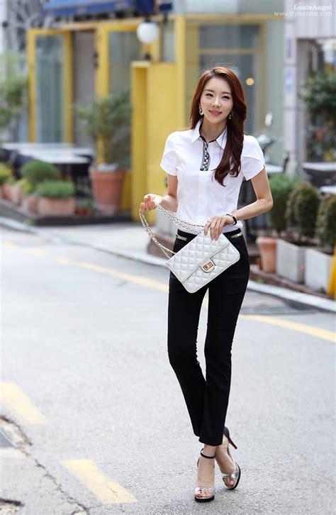 Kemeja Hem Blouse Atasan Polos Simpel Casual Santai L Besar Simple Dengan Kemeja Casual Wanita Toko Baju