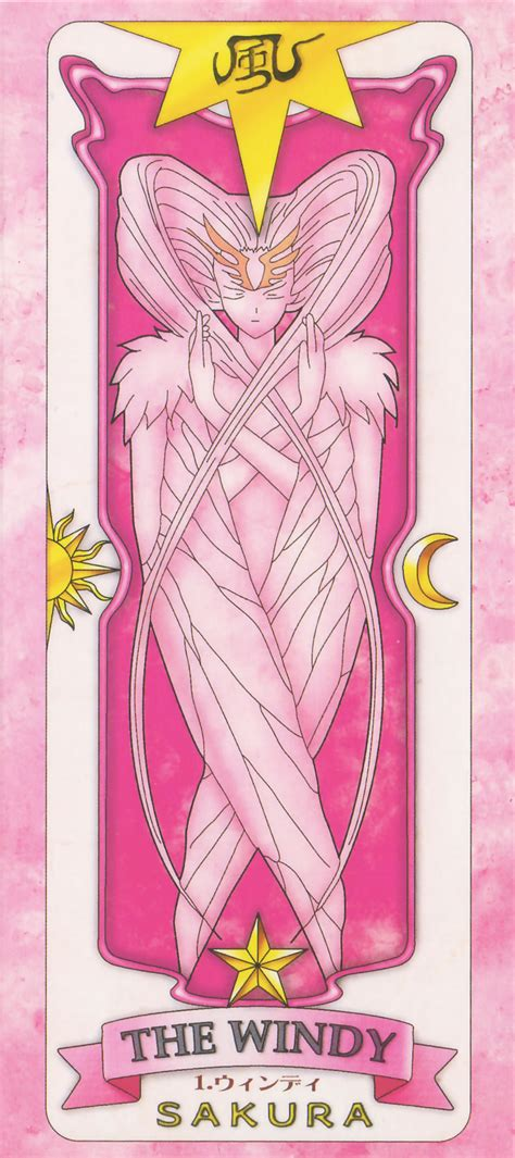 clow cards the windy template clow cards cardcaptor page 5 of 19 zerochan