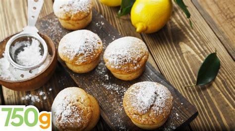 Recette De Muffins Au Citron 750 Grammes Youtube