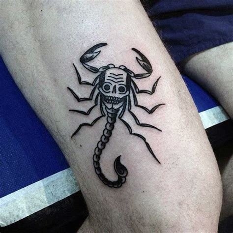 scorpio tattoo for men 60 scorpion designs for ideas that sting