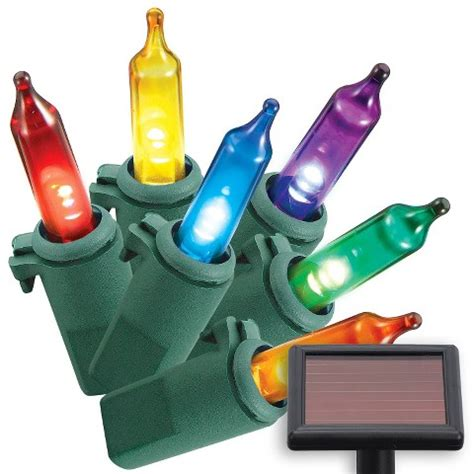 philips solar mini lights multi color 50ct target