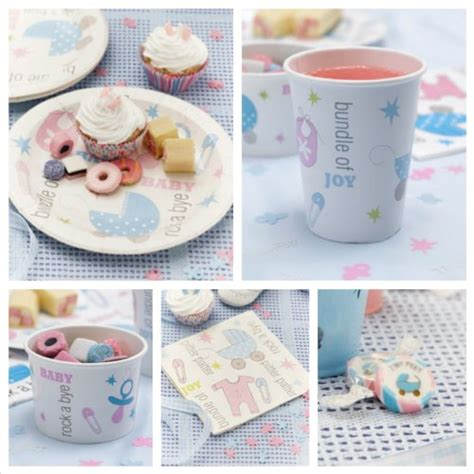 Baby Shower Tableware by Baby Shower Decorations Decorations
