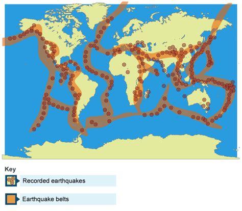 earthquake definition geography bbc intermediate 2 bitesize geography environmental