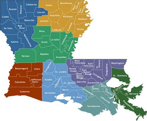 louisiana festival map louisiana credit union finder