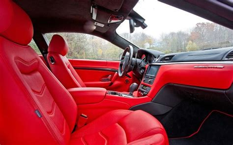 maserati granturismo red interior 26 best images about granturismo on pinterest maserati