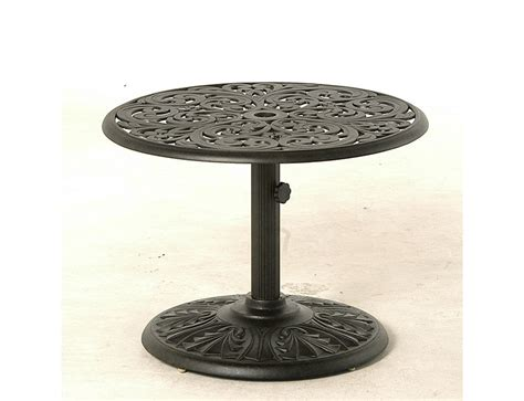 Umbrella Side Table Northern Virginia Hanamint Chateau 30 Quot Umbrella Side Table Washington Dc