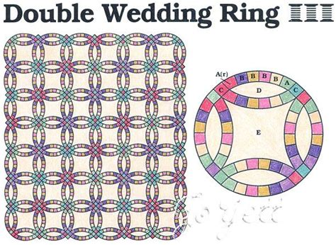 36 best images about quilt wedding ring on pinterest