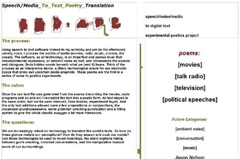 biography url meaning the battery life of meaning speech to text poetry elmcip