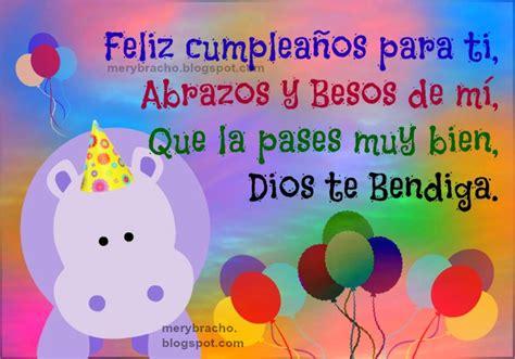 imagenes feliz cumpleaños nena tarjeta de cumplea 241 os feliz para ni 241 o o ni 241 a entre
