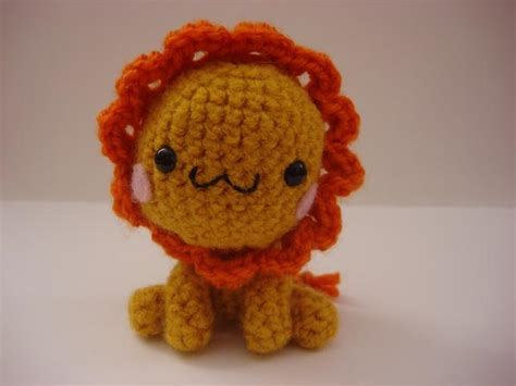 amigurumi pattern lion amigurumi lion by melissah84 on deviantart