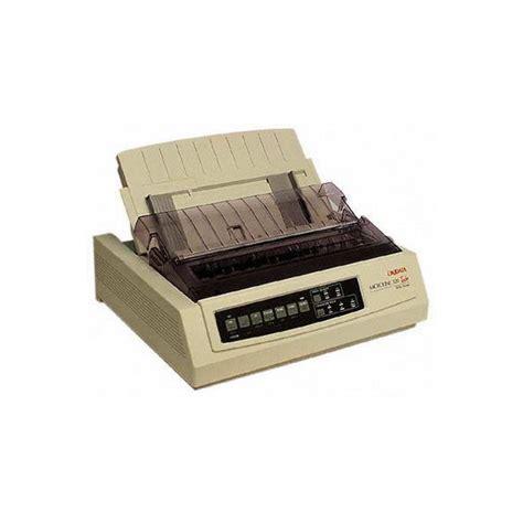 Printer Oki Microline 390 Turbo 24pin Bekas oki microline 390 turbo plus dot matrix printer 24 pin narrow carriage printer thailand
