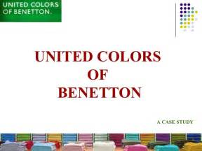 united colors of beneton united colors of benetton presentation