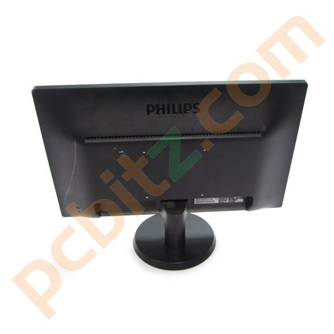 Monitor Led Philips 18 5 philips 193v5lsb2 10 18 5 led vga monitor grade b ebay