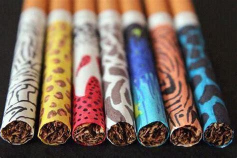 colored cigarettes color cigarettes