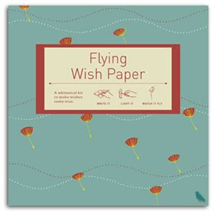 How To Make Flying Wish Paper - puffs flying wish paper large kit