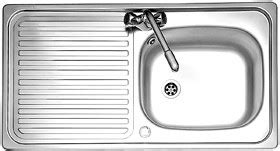 leisure linear kitchen sink lr460 1 bowl stainless linear 1 0 bowl stainless steel kitchen sink reversible