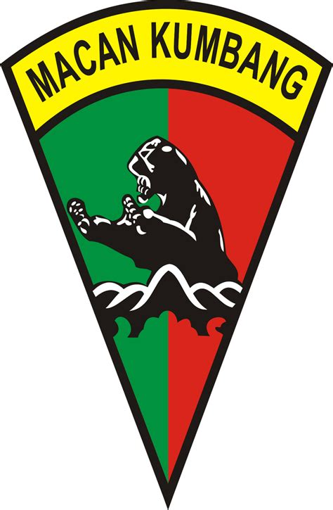 Logo Macan logo batalyon infantri yonif 121 macan kumbang deli serdang ardi la madi s