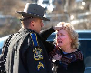 hair cts for female state troopers in conn sandy hook school shooting police audio reveals horrific