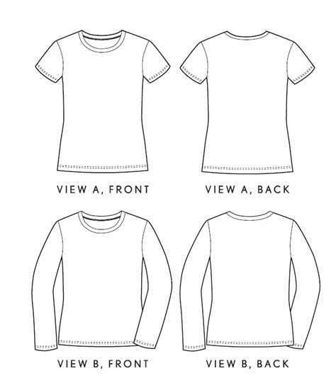 shirt pattern drawing liesl co lc007 women s metro shirt downloadable pattern