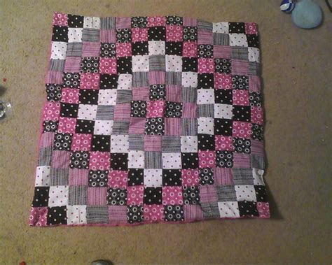 Black And Pink Quilt by Pink And Black Baby Quilt Quilting
