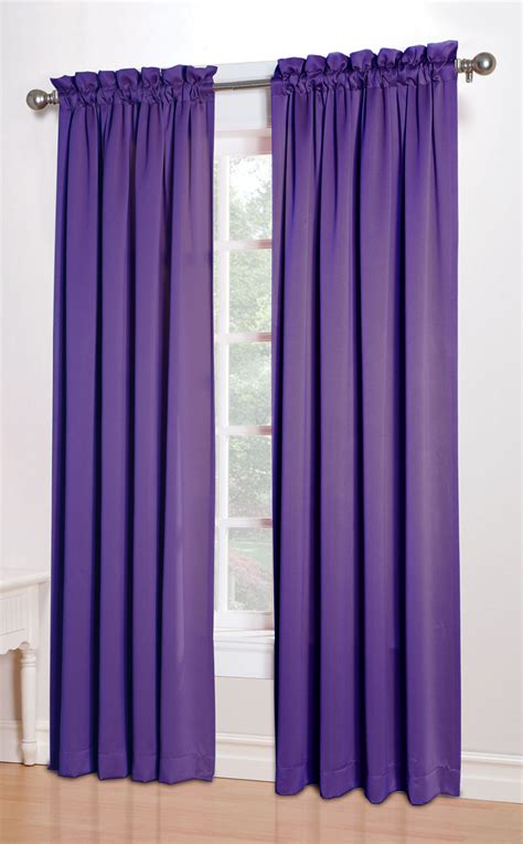 Curtains With Purple In Them Kylee Room Darkening Curtains Purple Lichtenberg Window Treatments