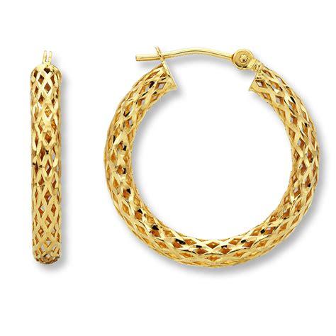gold hoop earrings with name inside nameplate earrings
