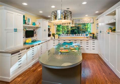 43 clever creative craft room ideas home remodeling