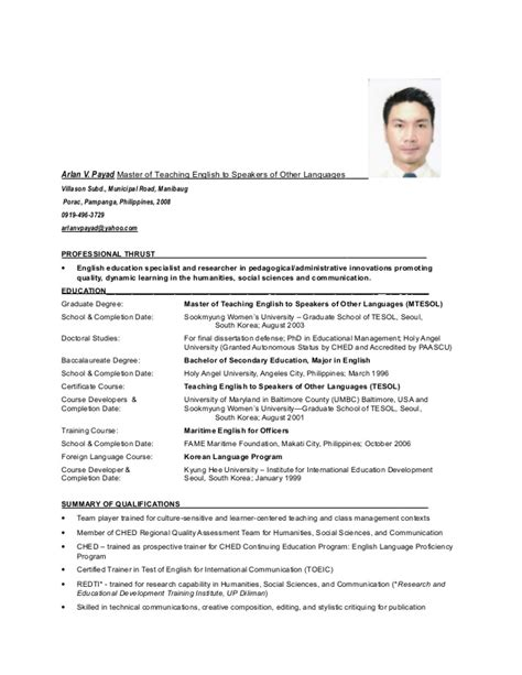 Sle Resume For Urology resume doctorate degree