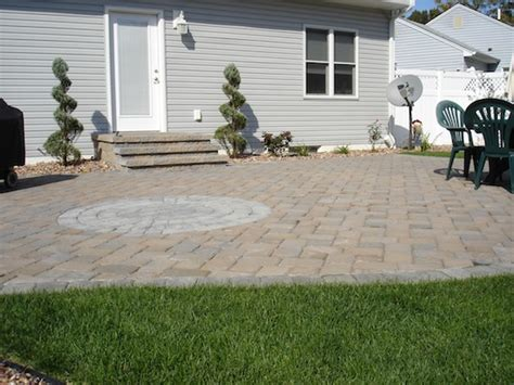 Paver Patio Nj Parlin Paver Patio Landscaping