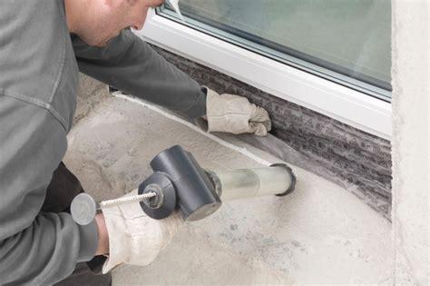 Fenster Mauerwerk Abdichten by Professionelle Fensterabdichtung Bauhandwerk