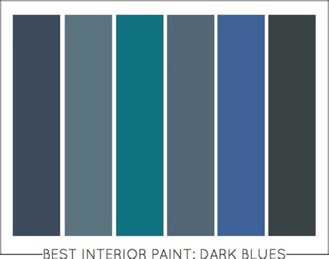 dark blue paint colors best interior paint colors dark blues capella kincheloe