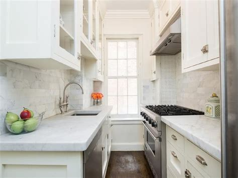white galley kitchen ideas white galley kitchen features white cabinets paired with
