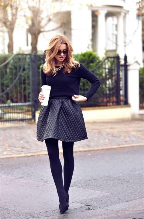 Rok Fashionable Cindia Navy Mini Skirt how to wear black leather skirts 2018 fashiontasty