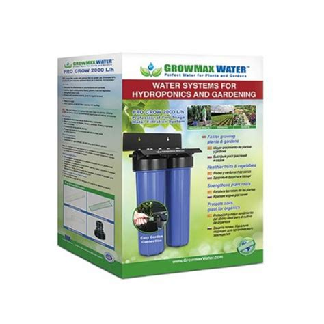 Filtration Eau De Pluie 445 by Growmax Water Osmoseur Filtration Pro Grow 2000l H