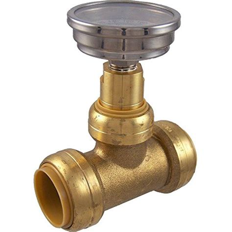 Water Temperature Plumbing by Sharkbite 24441 Brass Push To Connect With Water