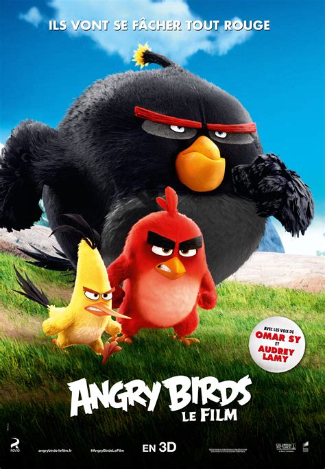 angry birds movie poster 18 of 27 imp awards angry birds 26 of 27 mega sized movie poster image