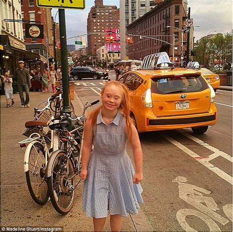 Fashion News Weekly Up Bag Bliss 14 by Syndome Model Madeline Stuart Walks The New York