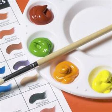 types of acrylic paint types of seal varnish to finish a canvas with acrylic