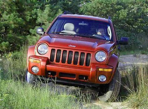Jeep Liberty Road Parts 2002 Jeep Liberty Limited Road Test Carparts