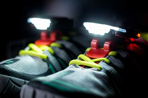 Shoe Lights For Runners by How To Run Safely At