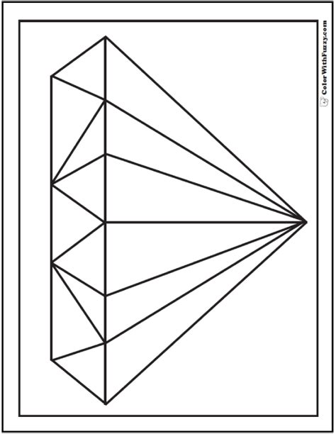 shapes printable diamond shape cutouts shape coloring pages customize and print