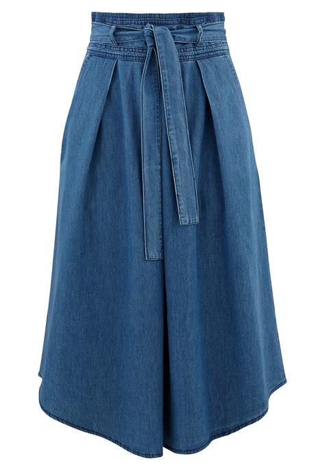 Jupe Jeanz jupe en jean promod les 25 plus belles jupes en jean de l 233 t 233 sont l 224