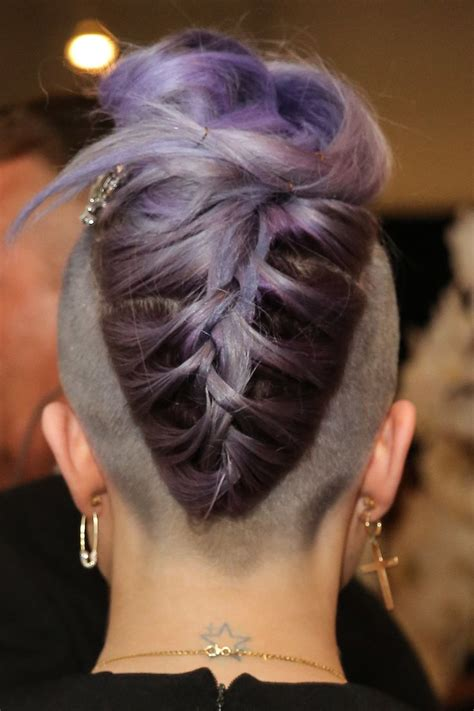 braids into a french roll with sides shaved 1000 images about hair undercut on pinterest kelly