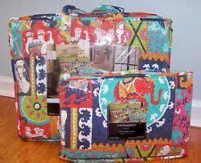 Cynthia Rowley Elephant Quilt by Cynthia Rowley Moroccan 3pc Quilt Set New
