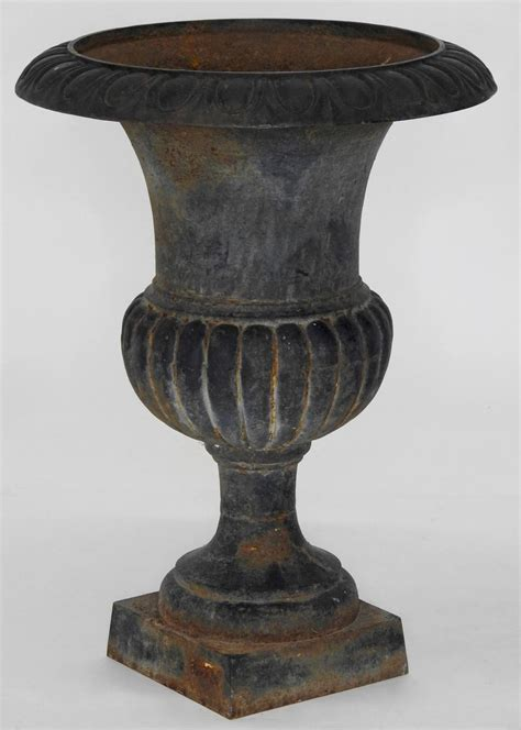 Cast Iron Planters For Sale by Pair Of 19th Century Cast Iron Planters For Sale At 1stdibs