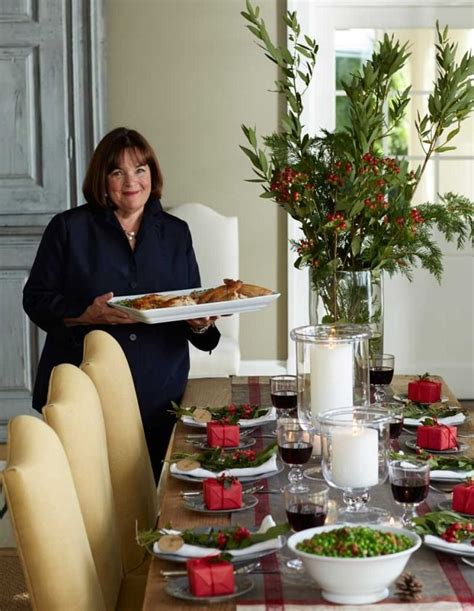 ina garten menus entertaining ina garten s way the holiday table